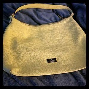 Yellow leather Kate Spade handbag